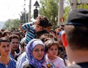 flüchtlinge mazedonien grenzübergang