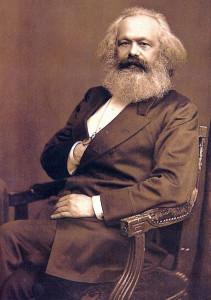 John Jabez Edwin Mayall: Foto von Karl Marx, vor 1973