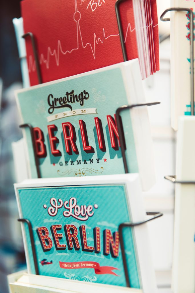Postkarten von Berlin: Markus Spiske: Berliner Fernsehturm, Berlin, Germany