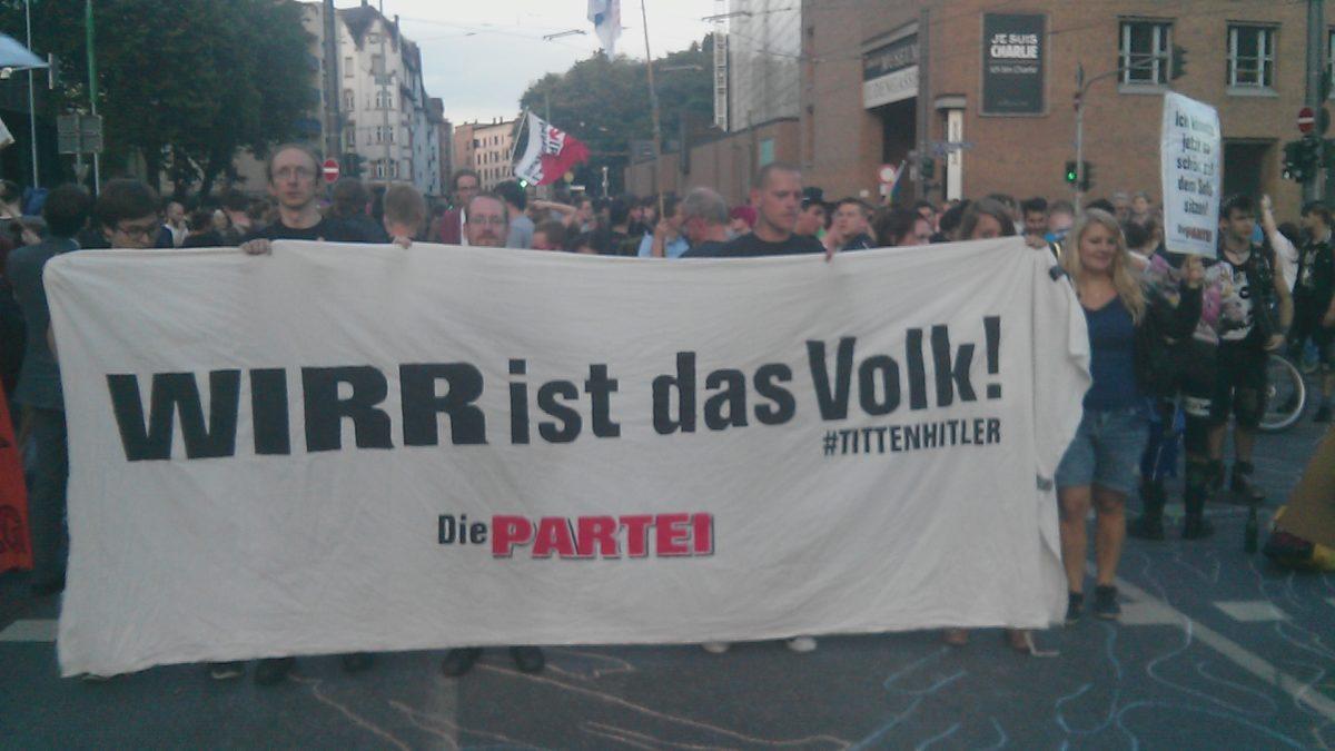 Ihr seid nicht das Volk! Europäische Ideen gegen rechtspopulistische Propaganda